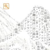 名言等縦書きメッセピクチャアート部分拡大3